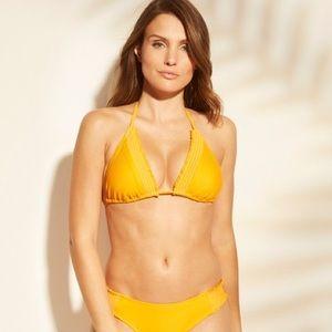 Shade and Shore rib smocked bikini